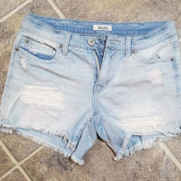 Mudd Pants - {2 for 10} Mudd distressed jean shorts sz 7